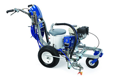 Graco FieldLazer R300 ride on airless line marking athletic field line striping machine traffic line marking.