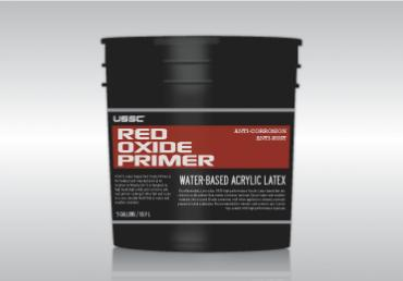 Water Based Red Oxide Primer Anti Rust Anti Corrosion For Metal Steel