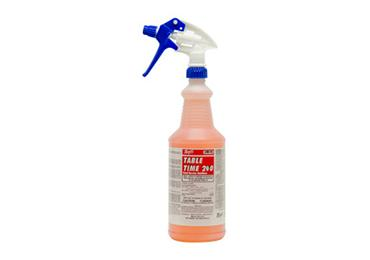Contains No Bleach Epa Registered Food Contact Approve Bacteria Killer - Restaurant table cleaner