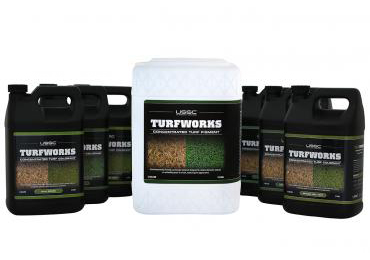 Green Turf Dye colorant Green Grass paint color brown home lawn grass to lush green.