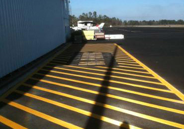 Line striping marking paint roads-streets-highways-airports