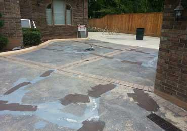 Water based concrete coating concrete repair protective for Can i paint asphalt driveway