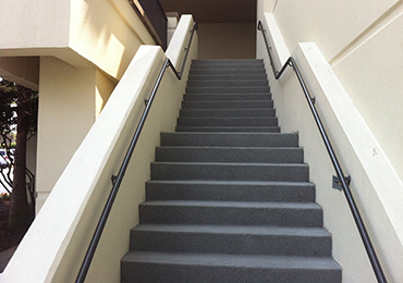 Attrayant Concrete Coating Paint Stairs Non Skid.