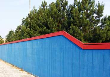 Solid Color Paint Coating For Exterior Wood Siding Fence