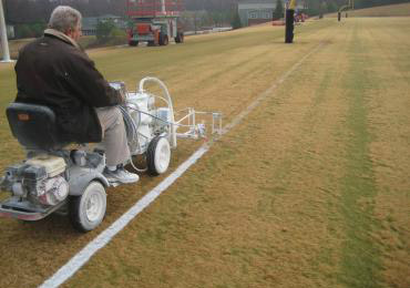 athletic field marking machine