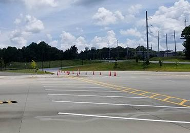 Traffic Line Marking Striping Highway Road Street Airport