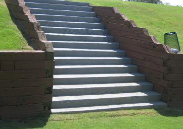 Protective Durable Non Skid Coating For Concrete Stairs.