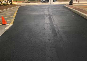 Asphalt Seal Coating crack repair product non skid to