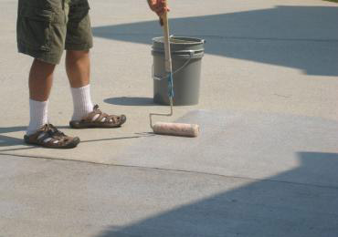Clear Acrylic Concrete Coating Drive Way Coating Sealer